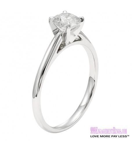 Diamond Engagement Ring LM-1143 1/3 Carat