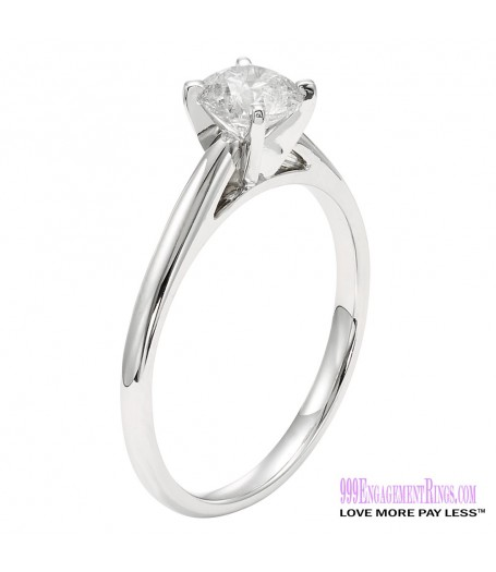 Diamond Engagement Ring LM-1145 1/2 Carat