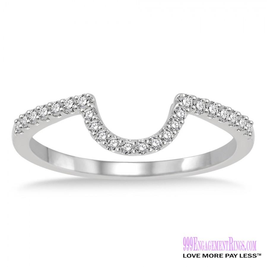 Wedding Bands For Less: Diamond Wedding Band LM1101WG-WB 1/5 Carat