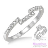 Diamond Wedding Band LM1102WG-WB 1/4 Carat