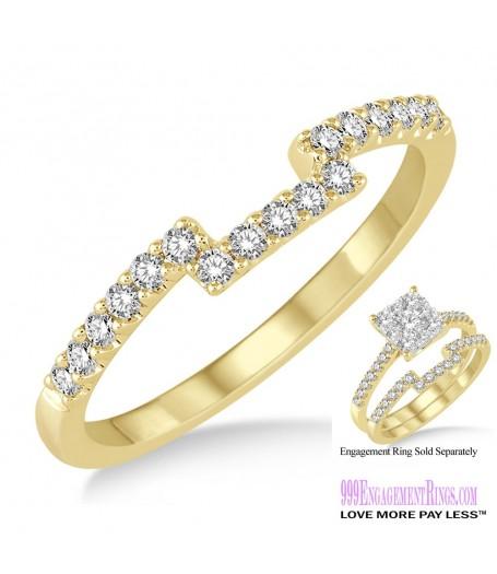Diamond Wedding Band LM1102YG-WB 1/4 Carat