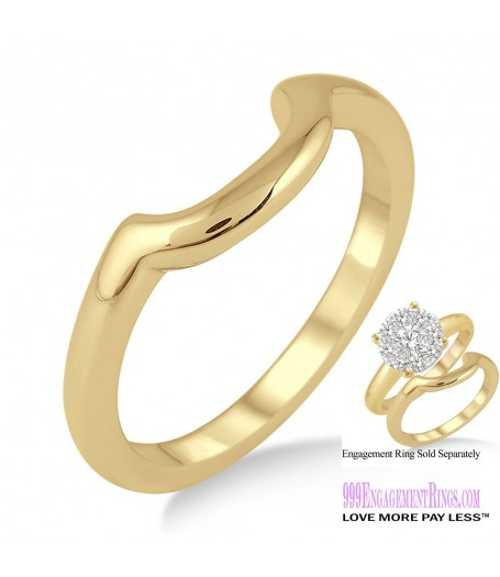 Gold Wedding Band LM1103YG-WB