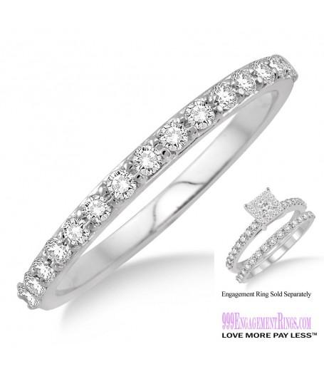 Diamond Wedding Band LM1105WG-WB 1/3 Carat