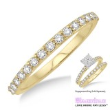 Diamond Wedding Band LM1105YG-WB 1/3 Carat