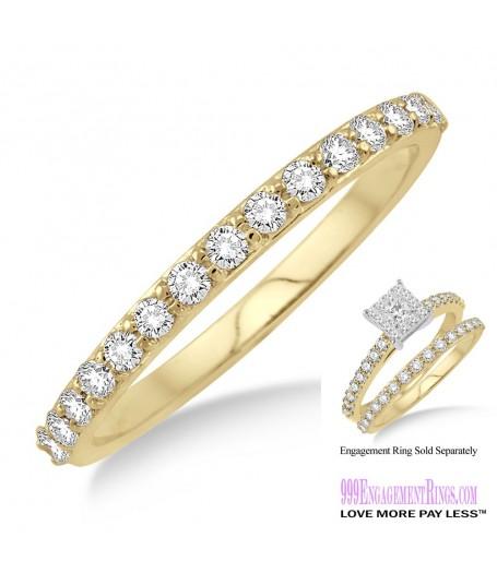 Diamond Wedding Band LM1105YG-WB 1/3 Carat