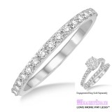Diamond Wedding Band LM1106WG-WB 1/3 Carat