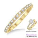 Diamond Wedding Band LM1106YG-WB 1/3 Carat