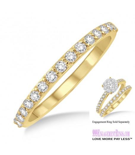 Diamond Wedding Band LM1106YG-WB 1/3 Carat