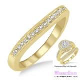 Diamond Wedding Band LM1108YG-WB 1/6 Carat