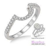 Diamond Wedding Band LM1110WG-WB 1/4 Carat