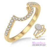 Diamond Wedding Band LM1110YG-WB 1/4 Carat