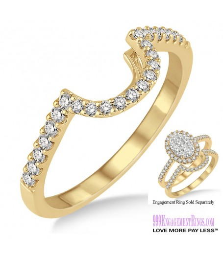 Diamond Wedding Band LM1110YG-WB 1/4 Carat