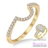 Diamond Wedding Band LM1111YG-WB 1/4 Carat