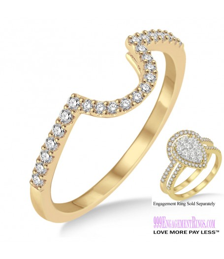 Diamond Wedding Band LM1112YG-WB 1/4 Carat