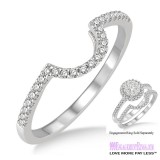 Diamond Wedding Band LM1113WG-WB 1/5 Carat