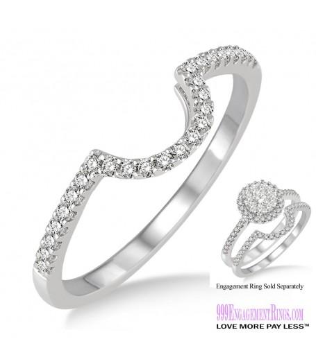 Diamond Wedding Band LM1113WG-WB 1/5 Carat