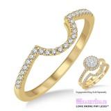 Diamond Wedding Band LM1113YG-WB 1/5 Carat