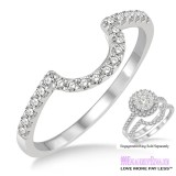 Diamond Wedding Band LM1114WG-WB 1/4 Carat