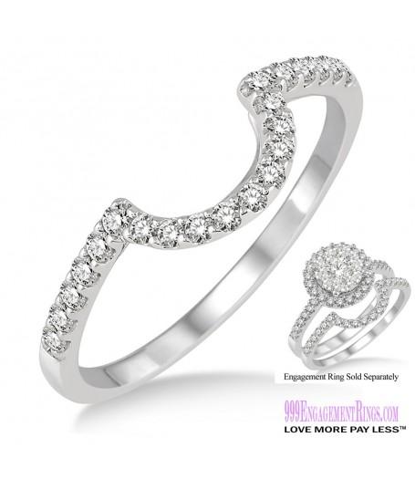 Diamond Wedding Band LM1114WG-WB 1/4 Carat