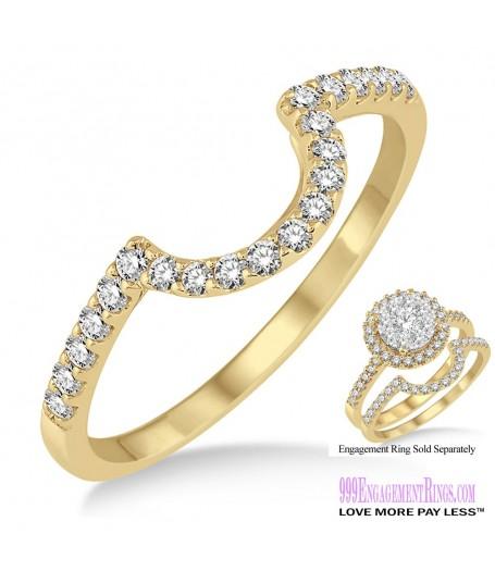 Diamond Wedding Band LM1114YG-WB 1/4 Carat