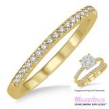 Diamond Wedding Band LM1115YG-WB 1/4 Carat