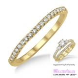 Diamond Wedding Band LM1117YG-WB 1/5 Carat