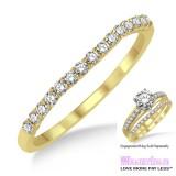 Diamond Wedding Band LM1118YG-WB 1/6 Carat