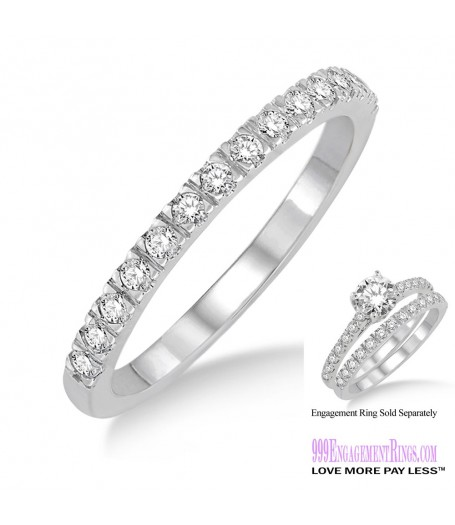 Diamond Wedding Band LM1120WG-WB 1/3 Carat