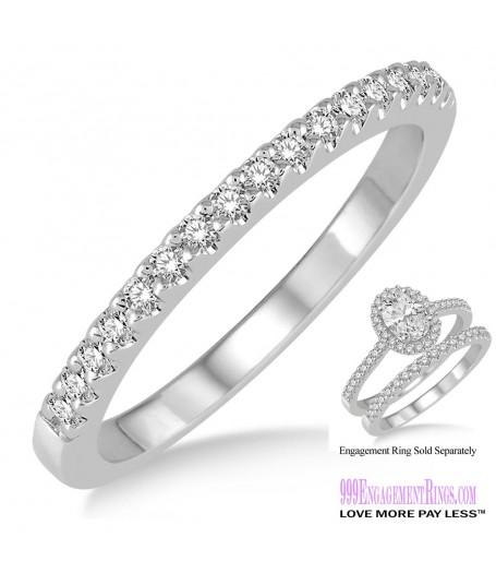 Diamond Wedding Band LM1127WG-WB 1/6 Carat